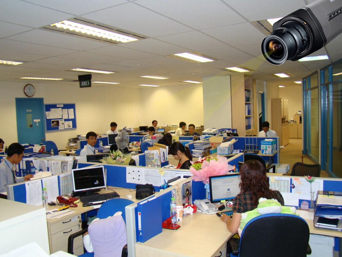 Camera giám sát nhân viên