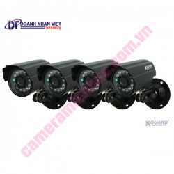 Kguard Exceptional All-in-one Combo Kit (4CH H.264 DVR with 4 CMOS Cameras)